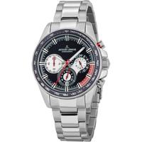 Ceasuri & Bijuterii Bărbați Ceasuri Analogice Jacques Lemans 1-2127E, Quartz, 40mm, 10ATM Argintiu