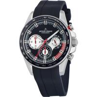 Ceasuri & Bijuterii Bărbați Ceasuri Analogice Jacques Lemans 1-2127A, Quartz, 40mm, 10ATM Argintiu