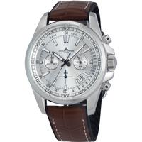 Ceasuri & Bijuterii Bărbați Ceasuri Analogice Jacques Lemans 1-2117B, Quartz, 44mm, 20ATM Argintiu