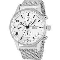 Ceasuri & Bijuterii Bărbați Ceasuri Analogice Jacques Lemans 1-1935B, Automatic, 44mm, 10ATM Argintiu