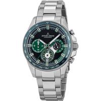 Ceasuri & Bijuterii Bărbați Ceasuri Analogice Jacques Lemans 1-2127G, Quartz, 40mm, 10ATM Argintiu