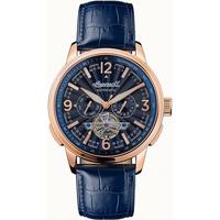 Ceasuri & Bijuterii Bărbați Ceasuri Analogice Ingersoll I00301B, Automatic, 47mm, 5ATM Auriu
