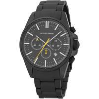 Ceasuri & Bijuterii Bărbați Ceasuri Analogice Jacques Lemans 1-2119F, Quartz, 44mm, 10ATM Negru