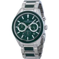 Ceasuri & Bijuterii Bărbați Ceasuri Analogice Jacques Lemans 1-2115G, Quartz, 44mm, 10ATM Argintiu