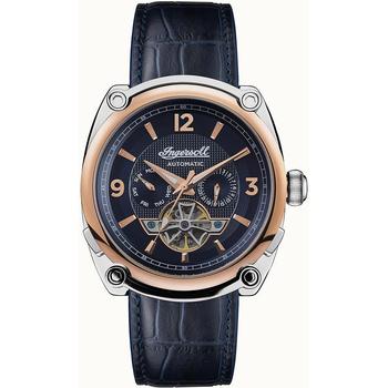 Ceasuri & Bijuterii Bărbați Ceasuri Analogice Ingersoll I01101B, Automatic, 45mm, 5ATM Argintiu