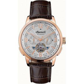 Ceasuri & Bijuterii Bărbați Ceasuri Analogice Ingersoll I00303B, Automatic, 47mm, 5ATM Auriu