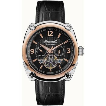 Ceasuri & Bijuterii Bărbați Ceasuri Analogice Ingersoll I01102B, Automatic, 45mm, 5ATM Argintiu