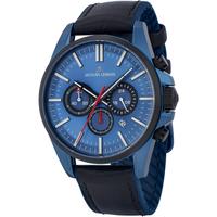 Ceasuri & Bijuterii Bărbați Ceasuri Analogice Jacques Lemans 1-2119C, Quartz, 44mm, 10ATM albastru