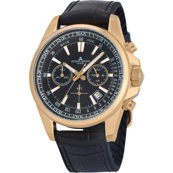 Ceasuri & Bijuterii Bărbați Ceasuri Analogice Jacques Lemans 1-2117E, Quartz, 44mm, 20ATM Auriu
