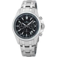 Ceasuri & Bijuterii Bărbați Ceasuri Analogice Jacques Lemans 1-2117I, Quartz, 44mm, 20ATM Argintiu