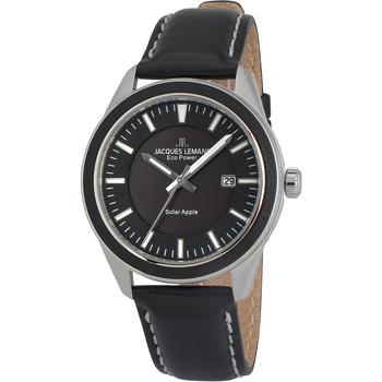 Ceasuri & Bijuterii Bărbați Ceasuri Analogice Jacques Lemans 1-2116A, Quartz, 40mm, 10ATM Argintiu