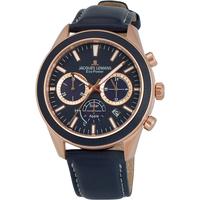 Ceasuri & Bijuterii Bărbați Ceasuri Analogice Jacques Lemans 1-2115E, Quartz, 44mm, 10ATM Auriu