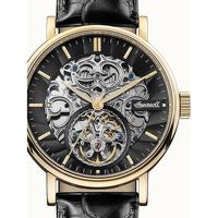 Ceasuri & Bijuterii Bărbați Ceasuri Analogice Ingersoll I05802, Automatic, 44mm, 5ATM Auriu