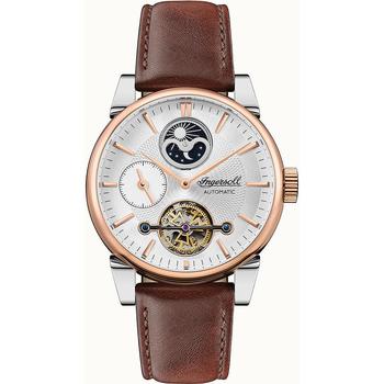Ceasuri & Bijuterii Bărbați Ceasuri Analogice Ingersoll I07503, Automatic, 45mm, 5ATM Auriu