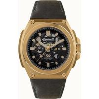 Ceasuri & Bijuterii Bărbați Ceasuri Analogice Ingersoll I11701, Automatic, 50mm, 5ATM Auriu