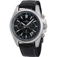 Ceasuri & Bijuterii Bărbați Ceasuri Analogice Jacques Lemans 1-2117A, Quartz, 44mm, 20ATM Argintiu
