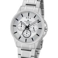 Ceasuri & Bijuterii Bărbați Ceasuri Analogice Jacques Lemans 1-1542P, Quartz, 42mm, 10ATM Argintiu