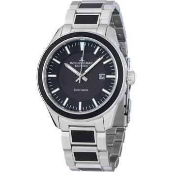 Ceasuri & Bijuterii Bărbați Ceasuri Analogice Jacques Lemans 1-2116D, Quartz, 40mm, 10ATM Argintiu