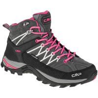 Pantofi Femei Drumetie și trekking Cmp Rigel Mid Grise