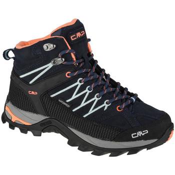 Pantofi Femei Drumetie și trekking Cmp Rigel Mid Bleu marine