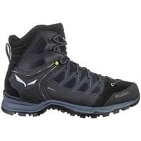 Pantofi Bărbați Drumetie și trekking Salewa MS Mtn Trainer Lite Mid Gtx Negre