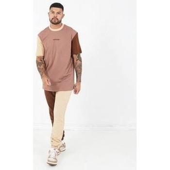 Îmbracaminte Bărbați Tricouri mânecă scurtă Sixth June T-shirt  Tricolor Regular beige