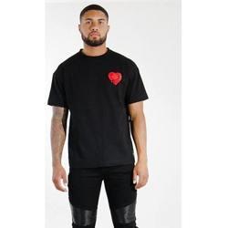 Îmbracaminte Bărbați Tricouri mânecă scurtă Sixth June T-shirt  Oversize noir