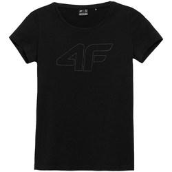 Îmbracaminte Femei Tricouri mânecă scurtă 4F TSD353 Negre