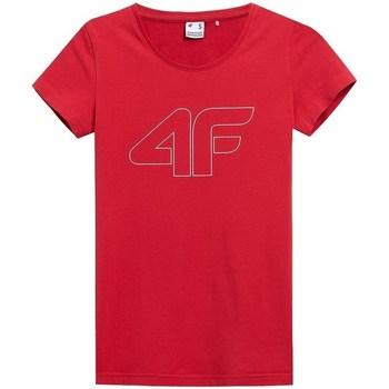 Îmbracaminte Femei Tricouri mânecă scurtă 4F TSD353 Roșii