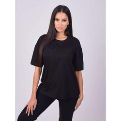 Îmbracaminte Femei Tricouri mânecă scurtă Project X Paris T-shirt femme basic noir