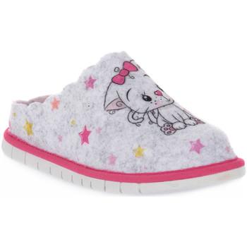 Pantofi Băieți Papuci de casă Grunland GHIACCIO G7 FIMO Grigio