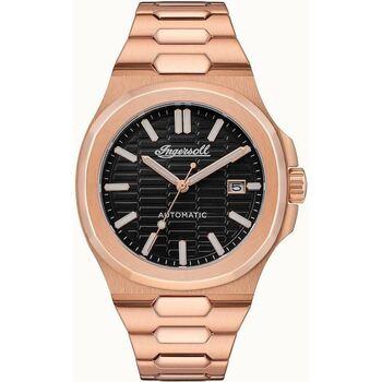 Ceasuri & Bijuterii Bărbați Ceasuri Analogice Ingersoll I11802, Automatic, 44mm, 5ATM Auriu