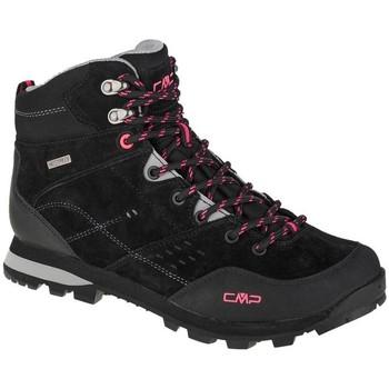 Pantofi Femei Drumetie și trekking Cmp Alcor Mid Negre