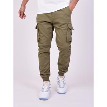 Îmbracaminte Bărbați Pantaloni Cargo Project X Paris Jeans Style Cargo Projet X Paris khaki