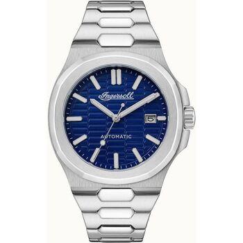 Ceasuri & Bijuterii Bărbați Ceasuri Analogice Ingersoll I11801, Automatic, 44mm, 5ATM Argintiu