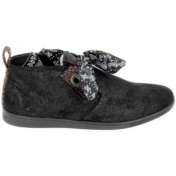 Pantofi Femei Ghete Armistice Stone Mid Cut Spacy Noir Negru