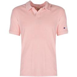 Îmbracaminte Bărbați Tricou Polo mânecă scurtă Champion  roz