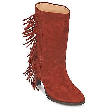 Pantofi Femei Cizme casual MySuelly GAD Maro ruginiu