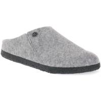 Pantofi Papuci de casă Birkenstock ZERMATT GREY WOOL FELT CALZ N Grigio