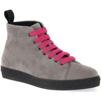 Pantofi Femei Ghete Frau CACHEMIRE IRON Grigio