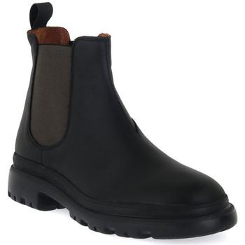 Pantofi Bărbați Ghete Frau CRAZY NERO MILITARY Nero