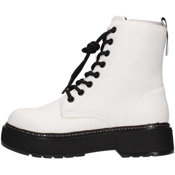 Pantofi Femei Botine Café Noir C1FF9000 WHITE