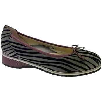 Pantofi Femei Balerin și Balerini cu curea Calzaturificio Loren LOA1110gr grigio