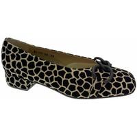 Pantofi Femei Balerin și Balerini cu curea Calzaturificio Loren LOA1120 nero