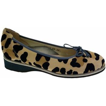Pantofi Femei Balerin și Balerini cu curea Calzaturificio Loren LOA1111 nero