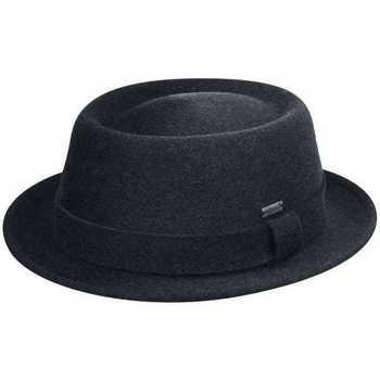 Accesorii textile Bărbați Pălării Kangol Chapeau en feutre  Polished Porkpie bleu foncé