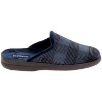 Pantofi Papuci de casă Boissy JH25624 Marine albastru