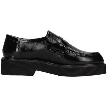 Pantofi Femei Mocasini Triver Flight 482-06 BLACK