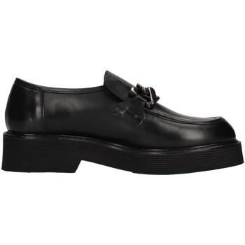 Pantofi Femei Mocasini Triver Flight 482-07 BLACK