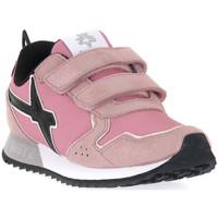 Pantofi Fete Sneakers W6yz 0M03 JET VL J GLITTER ROSE Rosa